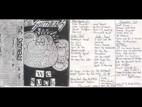 The Shitheads - We Suck demo 1990