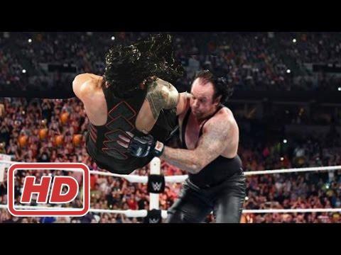 WWE Roman Reigns vs The Undertaker Full Match HD 2017 - Wrestlemania 33