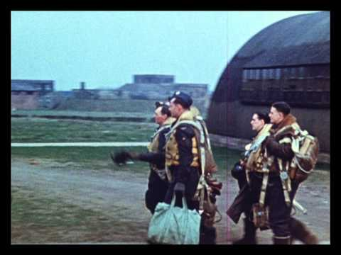 Bomber Command programme opening sequence