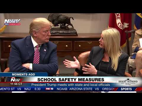 WATCH: President Trump Hosts School Administrators To Combat School Shootings (FNN)