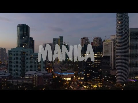 Manila by DJI Phantom Drone in 4K