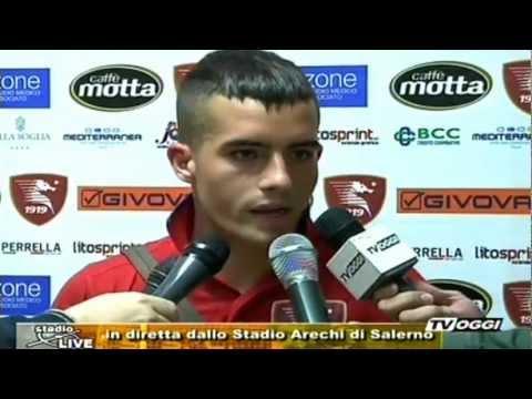 Diego Vincenzo Vettraino prima intervista da attaccante della Salernitana post Campobasso 28/10/2012