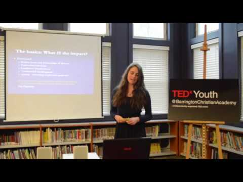 Chronic Illness: A Family Affair | Hannah Clark | TEDxYouth@BarringtonChristianAcademy