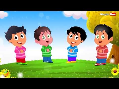 Top 50 Bài hát tiếng Anh hay nhất cho trẻ em