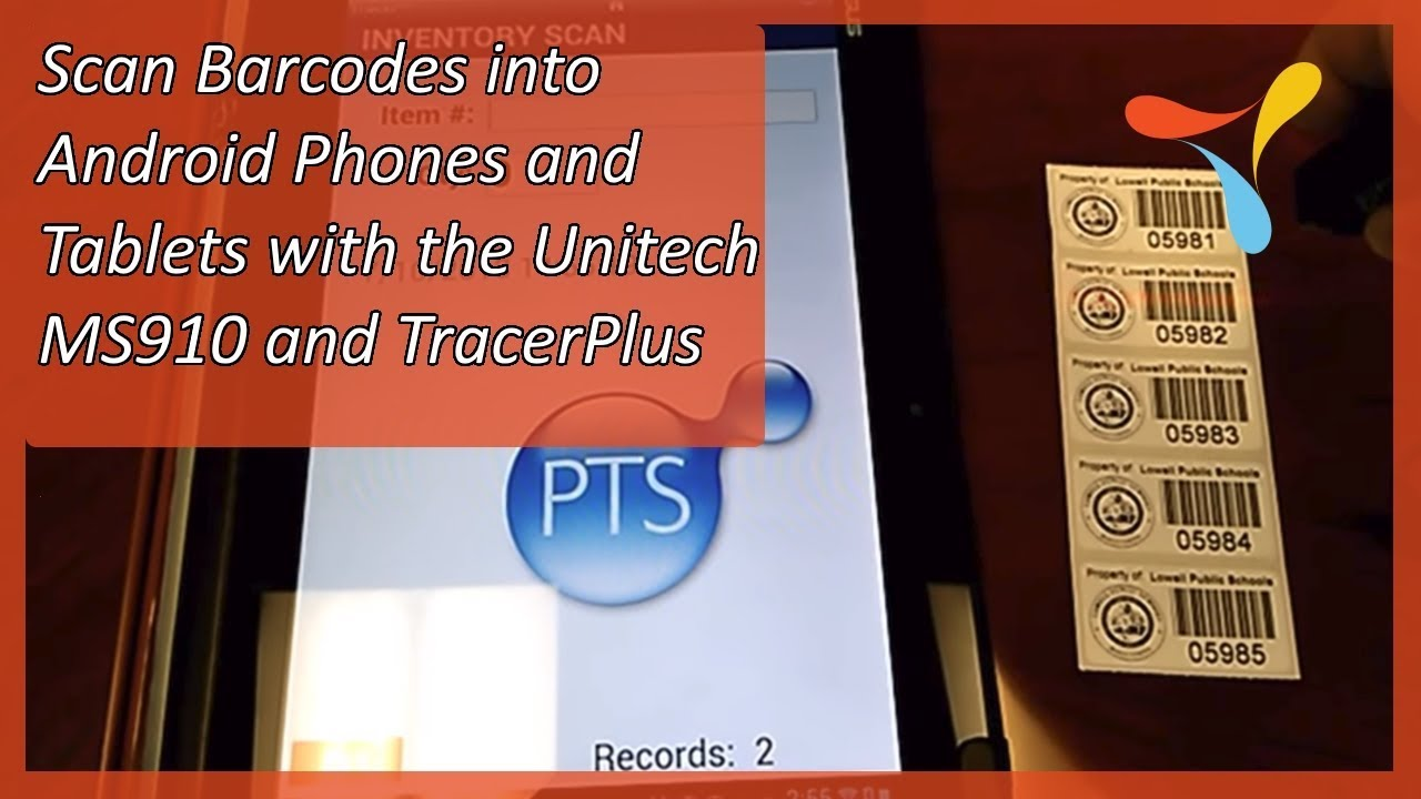 Phone Scan Barcode With Android Phone scan barcodes into android phones and tablets with the unitech ms910 tracerplus
