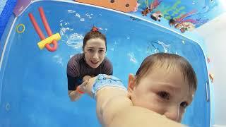 Грудничковое плавание в Краснодаре | Аквапузики ФМР #06