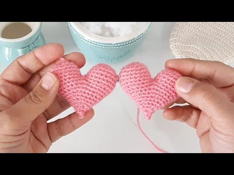 Bu Kalpleri Örmek Çok Kolay Amigurumi kalp yapılışı❤️ Amigurumi ... | 360x480