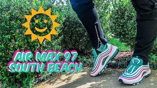 Nike Air Max 97 (South Beach) Social Status Pick up + Epic On Foot 0b1fa9640