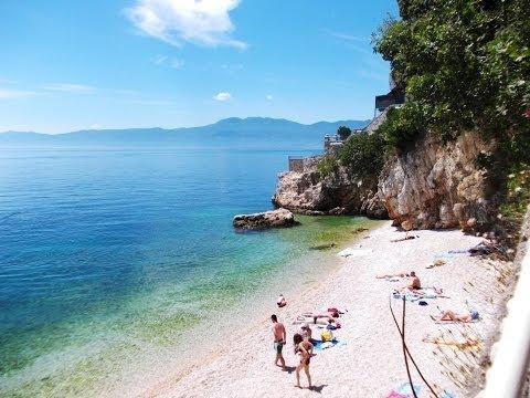 Sablicevo Beach in Rijeka
