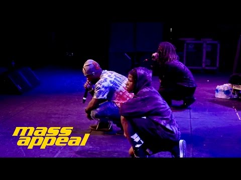 """A$AP Ferg Persian Wine & Work"""" Live at Mass Appeal / Ice Cream SXSW Social"""""""