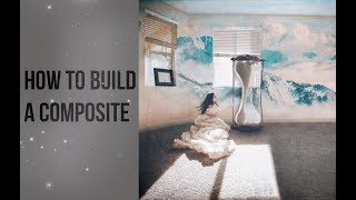The Time Hourglass Photoshop Tutorial - Building a Composite