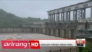 N. Korea discharges water from dam bordering South without notice: Defense Ministry
