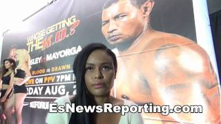 Shane Mosley GF Willing To Pay Mayorga 10K To Beat Him up - EsNews