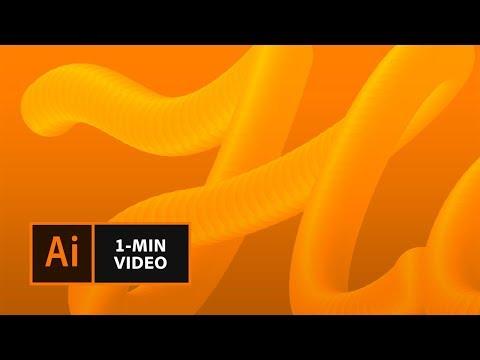 Eine 3D-Schrift erstellen mit Illustrator | Adobe DE