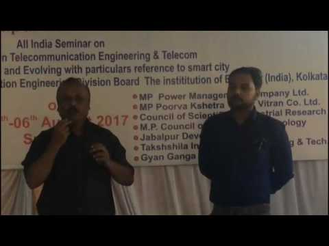 """All India Seminar on""""Futuristic Trends in Telecommunication Engineering and Teleco'  My Edited Video"""