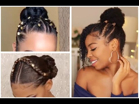 Not Your Ordinary Bun Beautiful Bun Hairstyles For Black