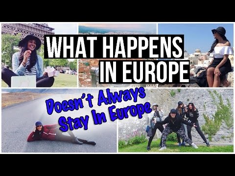 One Epic EUROPE TRIP | Travel VLOG