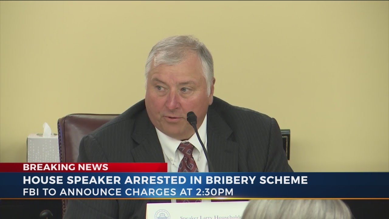 Larry Householder, Ohio house speaker arrested in FBI bribery ...