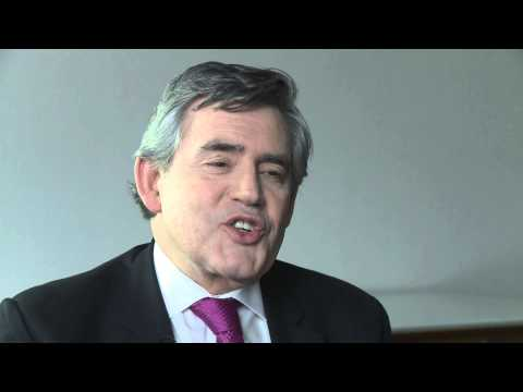 Gordon Brown - UK Prime Minister Interview by RMR