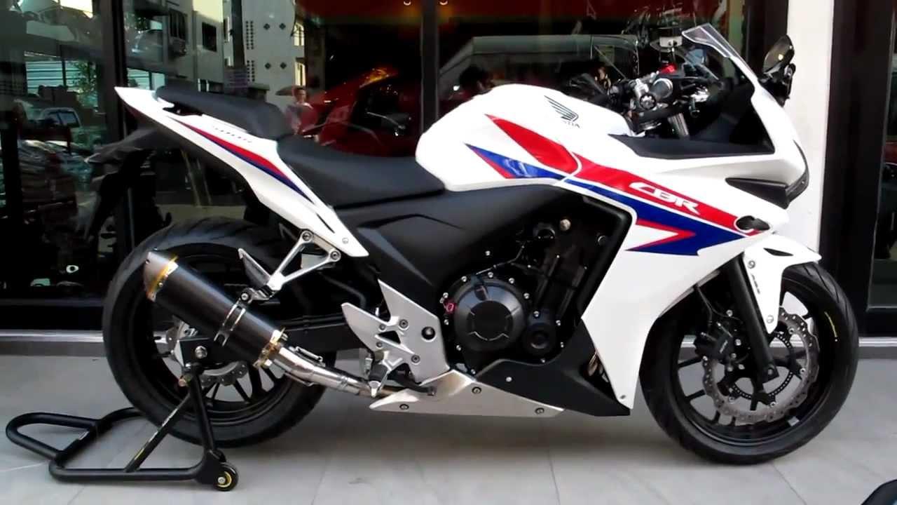 2013 CBR500R Exhaust Sound Clip Video & More! K-Speed / Honda of ...