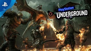 Middle-earth: Shadow of War - PS4 Gameplay | PlayStation Underground