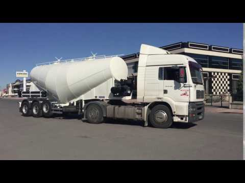 Cement bulkers by Alura Trailer