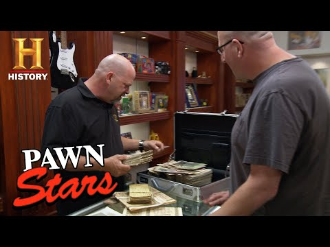 Pawn Stars: Rick Considers Stacks Of 1910 German Currency (S13) | History