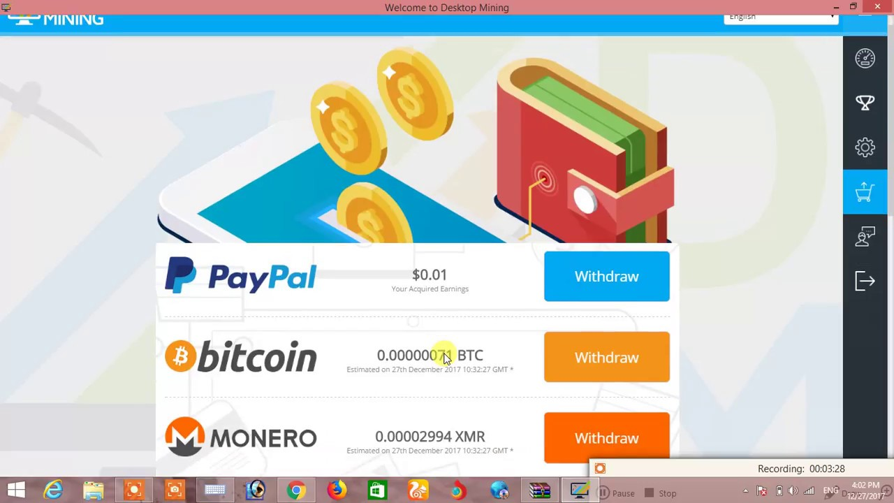 Desktop free computer mining withdrawal minimum 1 usd bitcoin desktop free computer mining withdrawal minimum 1 usd bitcoin monero ethereum iota or paypal ccuart Gallery