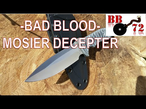 Knife Review - Bad Blood, Mosier Decepter, Hallmark Cutlery