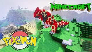 Minecraft Pixelmon+ Tập 12: Linh Vật Tái Tạo lục địa Primal Groudon