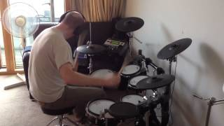 Simple Minds - Alive And Kicking (Roland TD-12 Drum Cover)