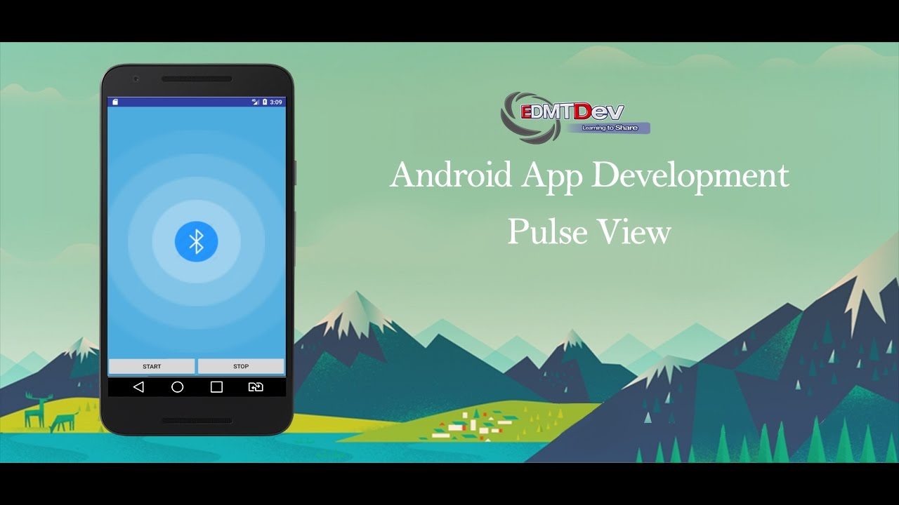 Android Studio Tutorial - Pulse View