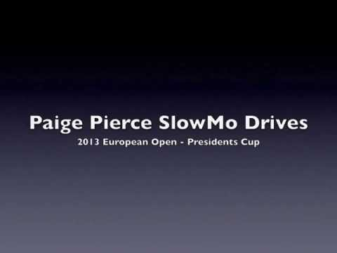 DiscGolf4Women.com - SlowMo Paige Pierce