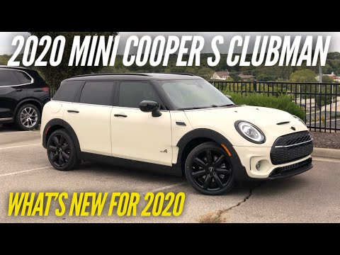 2020 MINI Cooper S Clubman All4 | What's New For 2020
