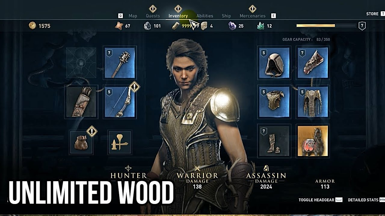 How To Get Unlimited Olive Wood In Assassin S Creed Odyssey Youtube