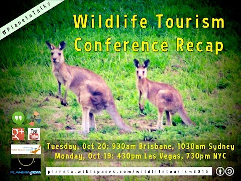 #WildlifeTourism2015 Recap