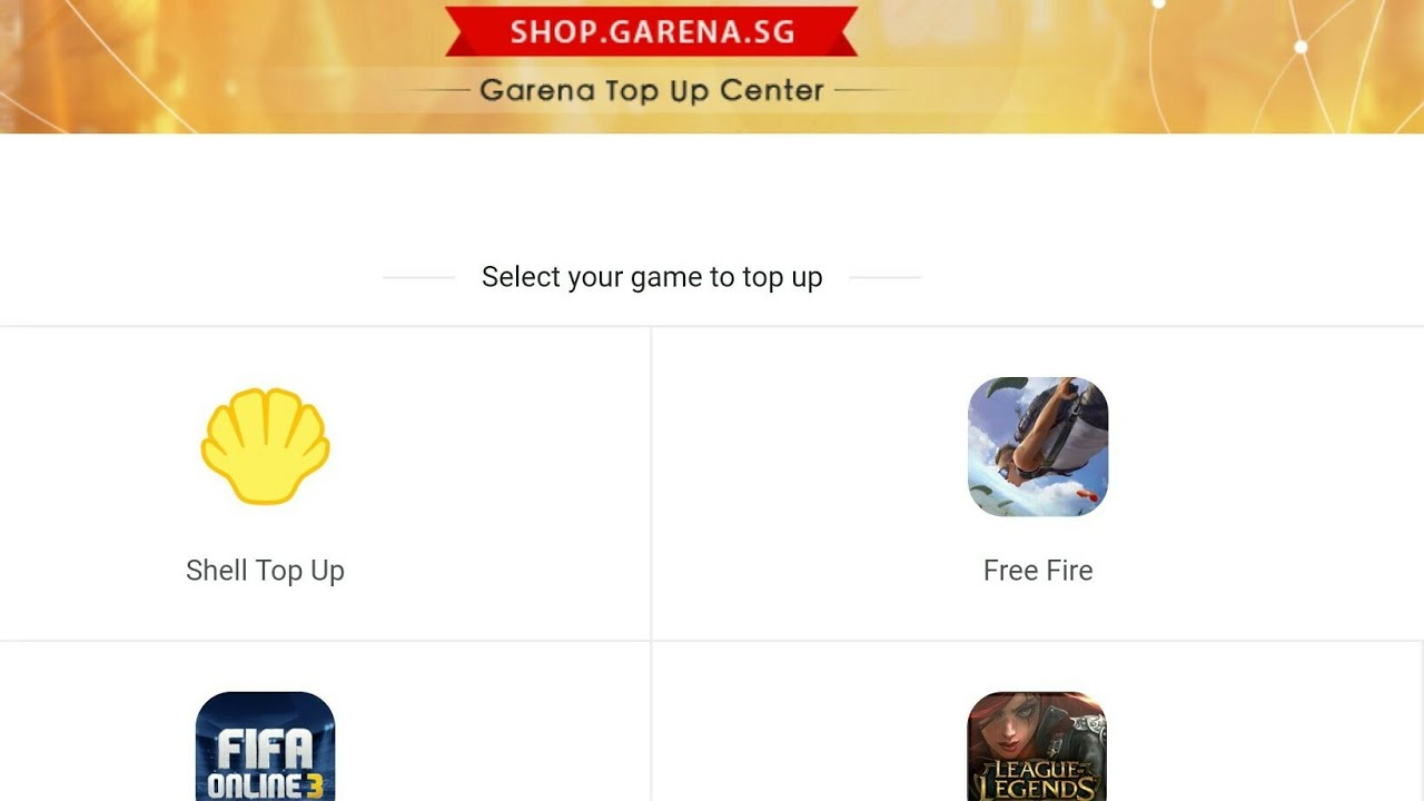 Top Up Diamond Free Fire Murah!Hanya Di Garena Topup Center
