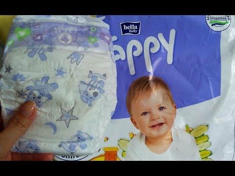 Подгузники Bella Baby Happy / Подгузники Хэппи - обзор, отзыв