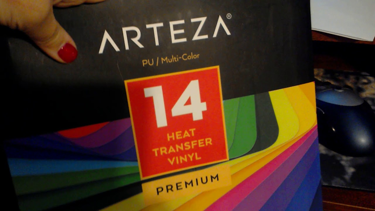 Arteza Heat Transfer Vinyl Arteza Heat Transfer Vinyl With Silhoutte Design