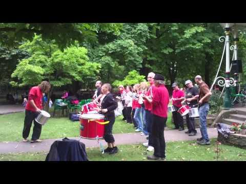 Swindon Samba; Samba Reggae: Bandstand 21st September 2013