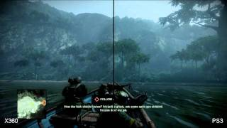 Battlefield: Bad Company 2 Xbox 360/PS3 Comparison