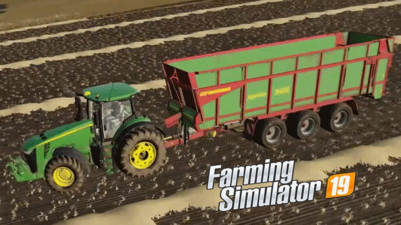 Farming Simulator 2019   Timelapse   Lone Oak Farm   Episode 108