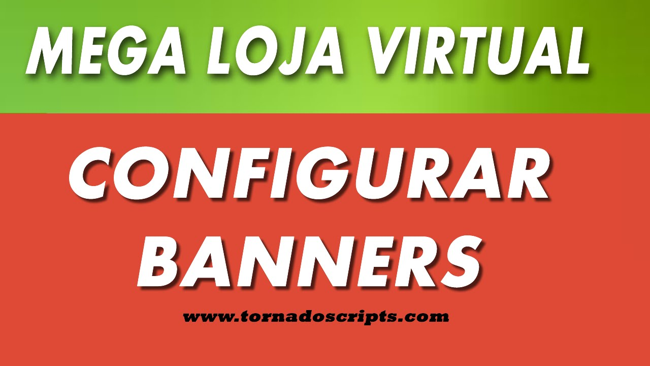 Configurar Banner loja virtual - YouTube