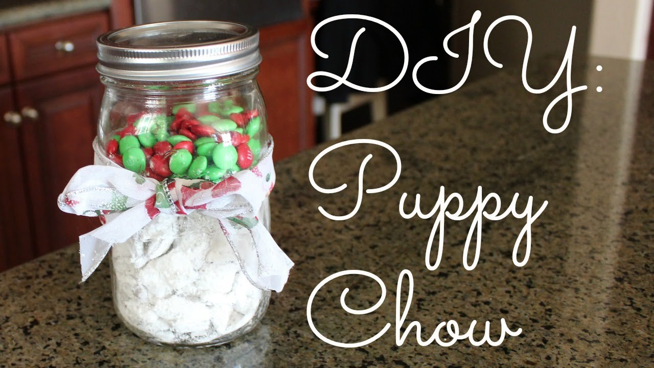 diy christmas puppy chow not puppy food - Christmas Puppy Chow