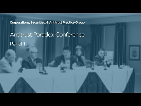 Generational Impact of The Antitrust [2018 Antitrust Paradox Conference]