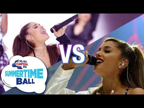 ARIANA GRANDE: SUMMERTIME BALL 2015 vs 2016 LIVE BATTLE!