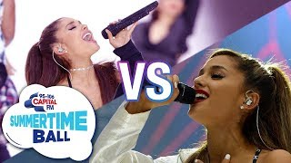 ARIANA GRANDE SUMMERTIME BALL 2015 vs 2016! (LIVE BATTLE)