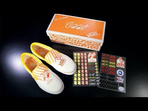 VANS X MOONEYES Limited SLIP-ON Shoes