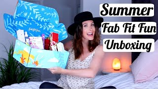 Summer Fab Fit Fun Unboxing 2020