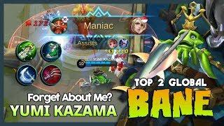 "Where is My Savage? Yumi Kazama Ranked 2 Global Bane ""Stop Belittling Me!"" ~ MLBB"